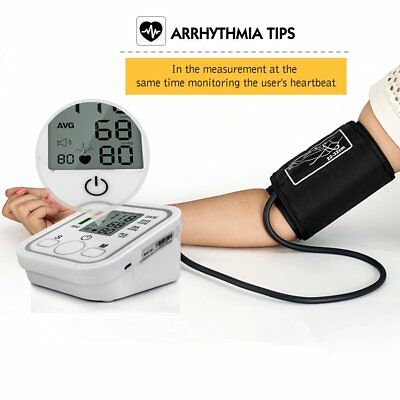 Automatic LCD Digital Arm Blood Pressure Monitor Machine Healthy Care Test Kit