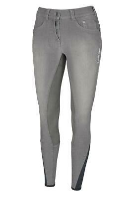Pikeur  breeches  Ladies Fayenne Jeans GRIP D76 US26L UK10 - Grey