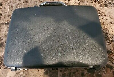 American Tourister Briefcase Attache Case Hard Shell Vintage with Keys