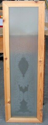 Original English Etched Stained Glass Window Free Uk Post