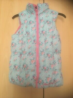 Girls Reversible Gillet By Peter Storm, Age 5-6 Years