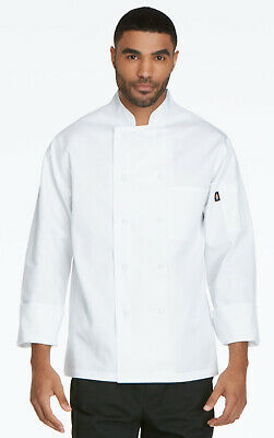 Dickies Chef Wear Unisex DC44 Classic Cloth-Covered Button Chef Coat