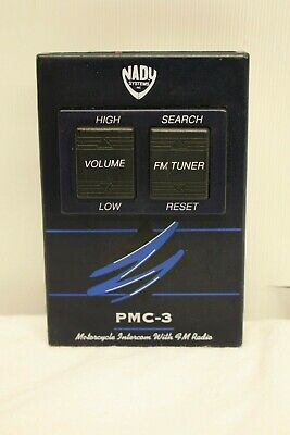 Nady Systems Pmc-3 Motorcycle Intercom With Fm Radio