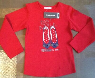 3 Pommes Girls Top Age 4/104cms