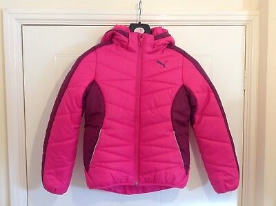 Puma Norway Jacket - Junior Girls - Sizes: MG / XLG - Colour : Pink