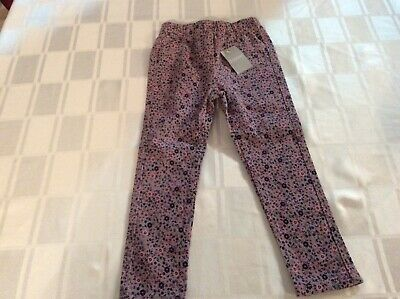 Bnwt Matalan Girls Floral Skinny Trousers Age 2/3 £2.50