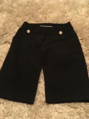 Generation 915 Age 12 Girls Black Cropped Trousers