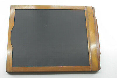 "8x10"" Glass Plate Film Holder Century View - Wood OD 18x235x297mm - USED LF12"