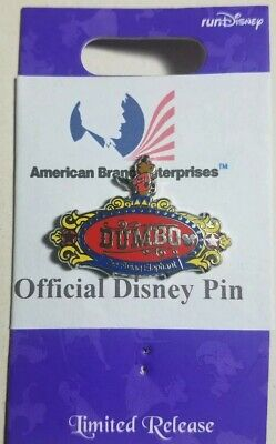 """Disney PIN Hidden Mickey WAVE C - 2019 WDW ATTRACTION SIGNS """"DUMBO"""" Traded"""