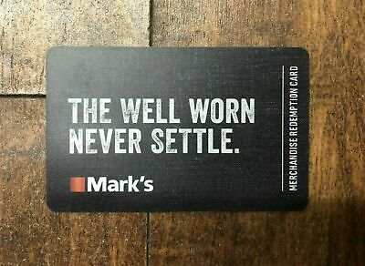 Mark's Gift Card - Mail Delivery