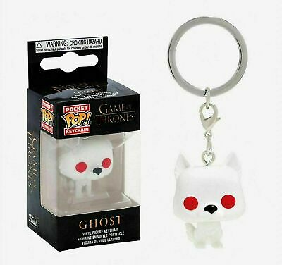 Funko Pocket Pop Keychain: Game of Thrones™ - Ghost Vinyl Figure Keychain #34910