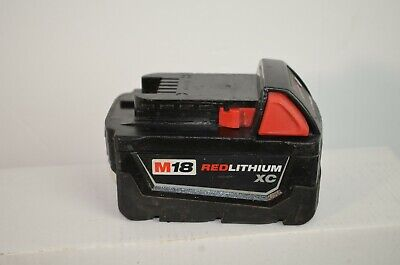 Genuine OEM Milwaukee Battery- 48-11-1828 M18 Red Lithium XC Extended Capacity