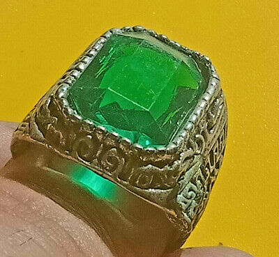 Ancient ROMAN Ring With Stone Silver artifact Amazing Piece.