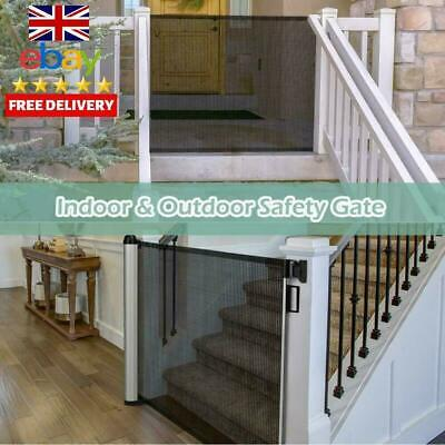 Retractable Stair Gate Baby Gate, Meinkind Safety Gate Stair Gates For Baby Chil