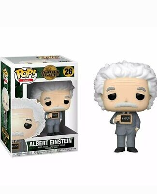 Funko Pop! Icons World History #26 Albert Einstein Collectible Vinyl Figure NEW