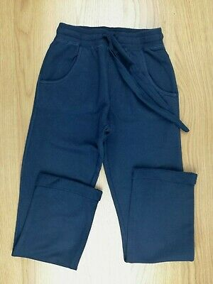 Girls navy sports trousers jogging bottoms age 10- 12 (146-152)