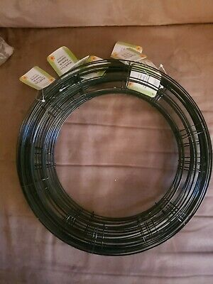 "Lot of 10  14"" Round Metal Wire Floral Wreath Frames Forms"
