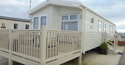 Willerby skye 2018 8 Berth 38x12 Static Caravan With Decking