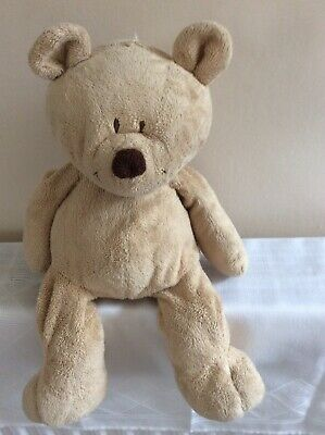 Vintage Beige Teddy Bear Soft Toy Comforter - Birth +