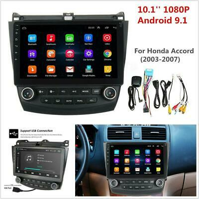 "10.1"" Android 9.1 Wifi Radio Stereo GPS 2+32GB 8 Core For Honda Accord 2003-2007"