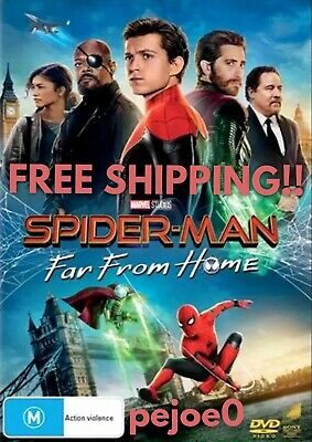 Spider-Man Far From Home DVD Spider Man Reg 4 FREE POST! (2019) New! Sealed!