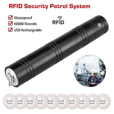 Anti-Broken Security Guard Patrol System Real time Waterproof 10x Checkingpoints