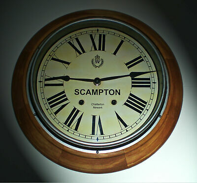 RAF Clock ,Royal Air Force WW2 style Wooden Clock, Bespoke Dial Made to Order.