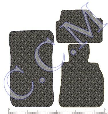 2011-2018 F13 Fully Tailored Floor Rubber Car Mats 3mm BMW 6 SERIES COUPE
