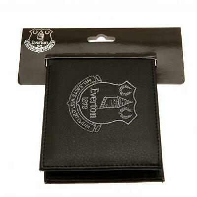 Everton  F.C. Embroidered Black PU Wallet - Official EFC Club Merchandise