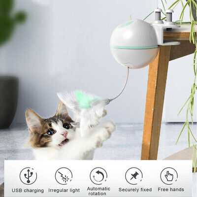2019 Automatic Interactive Motion Cat Toy Mouse Tease Electronic Pet Toys US