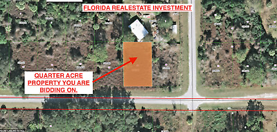 Florida Real Estate Investment, Homesite Lot With Owner Financing
