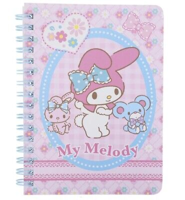 My Melody 2019 A6 schedule note agenda Japan new Sanrio Type B