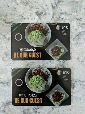 P.F. Chang's Gift cards!