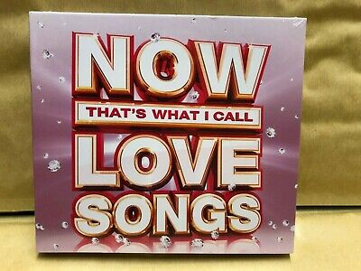 NOW that's what I call Love Songs  CD  NEW & Sealed  WA4