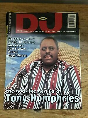 DJ Magazine December '95 Tony Humphries / History Of Hardcore