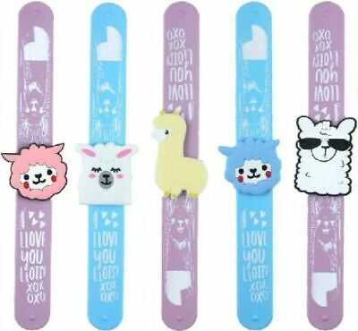 LLAMA Slap Band Slap Bands Bracelet Wristband Girls Party Stocking Filler Gift