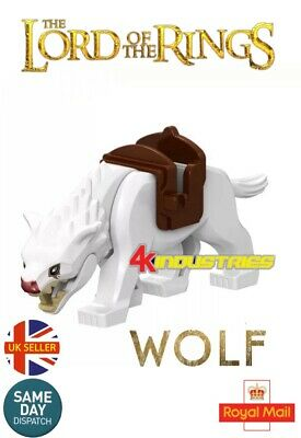Warg Matriarch Azogs Demon Wolf Mini Figure Hobbit Lord Of The Rings UK Seller
