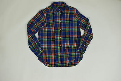 Men's Ralph Lauren  Button Down/ Button Up Regular XL 18-20 Boys Multicolo Solid
