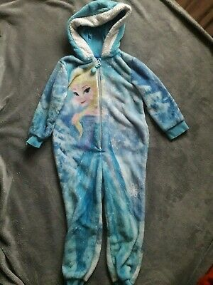 Rapunzel And Frozen One Piece sleepsuits Age 3 - 4 Disney Princess