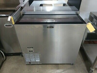 """Used Perlick FR36 36"""" Commercial Underbar Glass Froster / Freezer"""