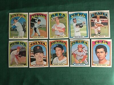 1972 Topps 6Th High Series 657-787 Nm-Mint Pick Cards You Want