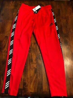 Adidas Mens Pro Madness Pants, Active Red, Large