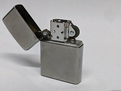 2015 Armor Antique Silver Plate ZIPPO Gun-Metal Silver Lighter with original box