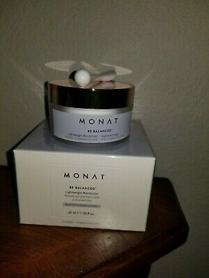 Monat Be Balanced Lightweight Moisturizer Plastic Wrap Accidently Removed