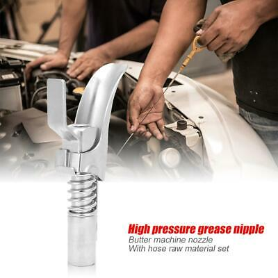 Locking Coupler Pliers High Pressure Quick Release Grease Oil Gun Couplers