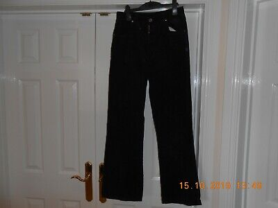 Next girls navy corduroy trousers. age 14 years.