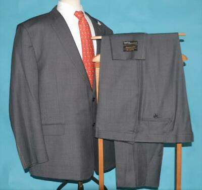 $1058 NWT Jos A Bank Signature Gold 56 L Super 120s wool gray birdseye suit p7j6