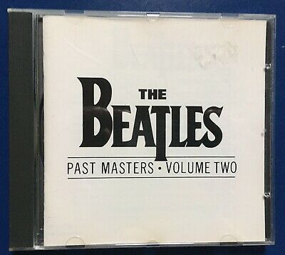 Cd The Beatles Past Masters Vol Two Cdp 790044 2 Europe 1988