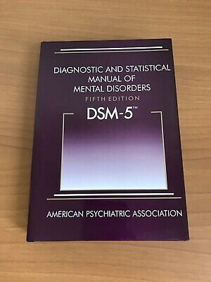HARDCOVER DSM-5 Diagnostic and Statistical Manual of Mental Disorders DSM-5-NEW