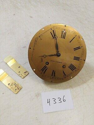Antique Seth Thomas  Tambour Mantle Clock 120 Movement Dial & Hands #19